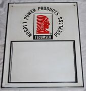 Vintage Tecumseh Engines Authorized Service Table Sign Lauson Power Products