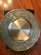 Collectable Royal Selangor Pewter Plate Malaysia Scene - Set Of Four