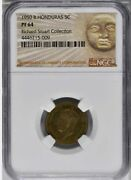 1950 British Honduras 5 Cents Ngc Pf 64 Rare In Proof Finest Certified Example