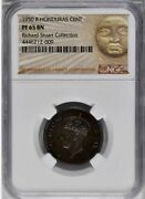 1950 British Honduras 1 Cent, Ngc Pf 65, Rare In Proof, Finest Certified Example