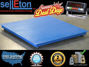New Hot Summer Deals 48 X 48 4and039 X 4and039 Pallet Size Digital Scale Warehouse