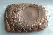 China 2014 Copper Inkstone / Medal - Chinese Lunar New Year Of The Horse