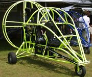 Excel Skymaster Powered Parachute Airplane Wood Model Large Free Shipping