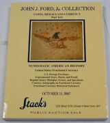 Stackand039s John Ford Collection Catalog Us Fractional Currency 10/11/2007 Rse B26