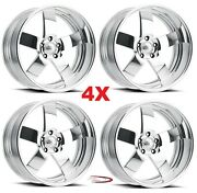 22 Pro Wheels Magg Custom Forged Billet Rims Foose Intro Staggered American Rod