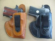 Azula Leather Non Collapse Tuckable In The Waist Iwb Holster For.select Gun - B