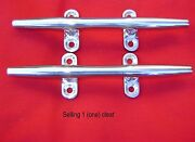 S. S. Stainless Steel Herreshoff Boat Yacht Dock Deck Line Rope Cleat 15