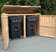 Outdoor Living Today Oscar Cedar Waste Management Shed 6and039 X 3and039