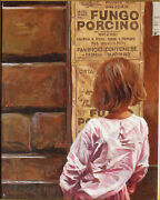 Craig Nelson Beautiful Figurative Oil On Canvas Andndash Italy