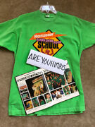 Ultra Rare — 90s Nickelodeon Takes Over Your School Sweepstakes Shirt And Yearbook