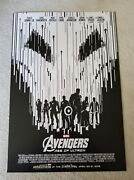 Marvel Avengers Age Of Ultron Marathon Exclusive Poster Limited El Capitan New