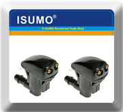 2 Kits Windshield Washer Nozzle Front Dual Holes Fits Toyota Avalon Camry Prius
