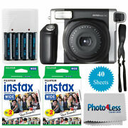 Fujifilm Instax Wide 300 Instant Film Camera | Instax 40 | Batteries And Charger