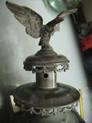 Vintage Brass Candle Sconce W/ Patriot Eagle 30'' Tall