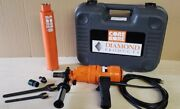 Weka Corebore Dk12made In Germany 3 Spd Hand Held Core Drill And 3 Inch Usa Bit