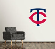 Minnesota Twins Wall Decal Logo Baseball Mlb Custom Art Decor Sticker Vinyl Sr34