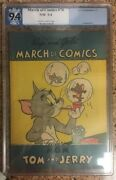 March Of Comics 70 M.g.m. Tom And Jerry K.k. Publications 9.4 Not Cgc 1951 Aa0