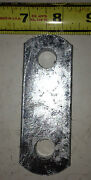 4 Trailer Spring Shackle Plate 1.5in X 4 In With 1/2 Hole Galvanized P7