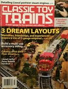 Classic Toy Trains 3 Dream Layouts Lionel Steam Engines Mar 2015 Free Shipping