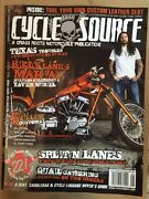 Cycle Source Texas Troubles Xavier Muriel Split'n Lanes Aug 2015 Free Shipping
