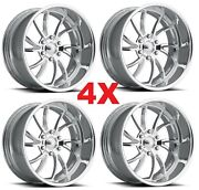 18 Pro Wheels Twisted Ss 6 Billet Forged Rims Line Us Specialties Mags
