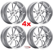 17 Pro Wheels Twisted Ss 5 Set Of 4 Billet Rims Billet Dub Us Mags