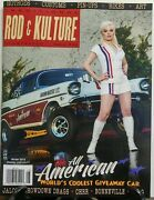 Traditional Rod And Kulture Illustrated Winter 2016 Hot Rods Free Shipping Sb