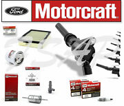 Motorcraft Tune Up Kit 2006-2011 Lincoln Town Car Ignition Coil Dg508 Ev273