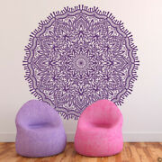 Mandala The Ravi Vinyl Wall Or Ceiling Decal - Fits Nursery Yoga Studio K718
