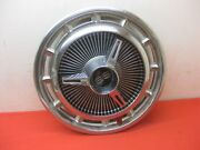1966 Chevy Impala Convertible 2 Door Hardtop Super Sport Spinner Hub Cap 4386