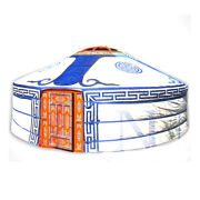 Mongolian Yurt Blue Canvas Cover Water Resistant
