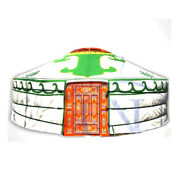 Mongolian Yurt Green Canvas Cover Water Resistant