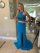 398 Nwt Two Piece Sherri Hill Prom/pageant/formal Dress/gown 50169 Size 2
