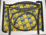 1957-1958 Buick And Cadillac Convertible Roof Rail Weatherstrip Set   Free Ship
