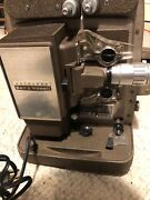 antique/vintage Bell And Howell Autoload Model 245 8mm Film Projector Working