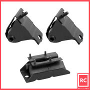 Motor And Trans Mount 3pcs Set For 1987-1999 Jeep Cherokee/ Comanche/wagoneer 4.0l