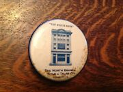 The White Bank North Branch Trust Co. Sunbury Pa. Celluloid Record Cleaner
