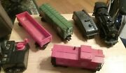 Lot Lionel Train Engine 8902 9341 9340 9339 And Coal Car And Power Supply