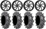 Msa Milled Switch 24 Wheels 40 Bkt At 171 Tires Can-am Commander Maverick