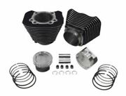 883-1200 Cylinder And Wiseco Piston Big Bore Conversion Kit 101 Sportster 04-18