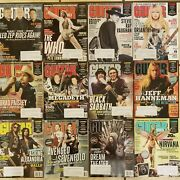 Guitar World 2013 Lot Entire Year Good Condition Nirvana Led Zeppelin The Who