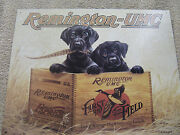 Remington Finders Keepers Tin Metal Sign Decor Hunting Outdoors New Puppies Duck