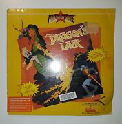1986 Dragonand039s Lair For Commodore 64 By Electronic Arts Factory Sealed