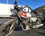 Used - Rare 1977 Yamaha Xs750 3-cylinder - Ready For Restoration