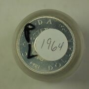 1964 Roll Of Canadian Dollar Coins Proof-like Pl 80 Silver 20 Total