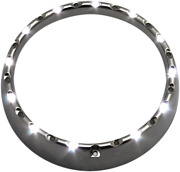 Cdtb-7tr-1c 7 Led Halo Headlight Trim Rings With Built-in Turn Signals