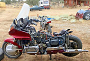 Cafe Racer Project Used - 1995 Honda Goldwing Engine Chassi And Tires