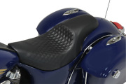 Mustang Shope Signature Series Seats For Indian Tripper Black - 76308
