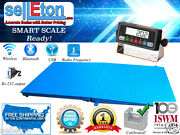 Selleton Pallet Size Floor Scale With A Ramp 10000 Lb Capacity 48 X 48