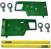New Lh And Rh Side Panels Kit Am128982 Am128983 Fits John Deere 445 Up S/n